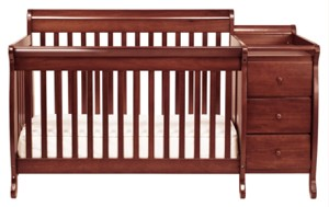 Davinci Kalani Crib N Changer Combo in Cherry