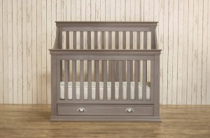 Franklin & Ben Mason 4-in-1 Convertible Crib with Toddler Rail