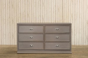 Franklin & Ben Mason Double Wide Dresser in Weathered Grey