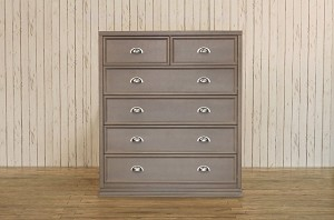 Franklin & Ben Mason Tall Dresser in Weathered Grey