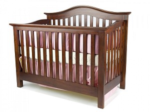 Munire Coventry Lifetime Convertible Crib in Classic Chestnut