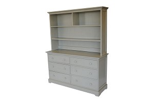 Munire Chesapeake Hutch Gray