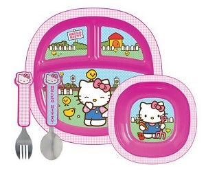 Munchkin Hello Kitty� Dining Set