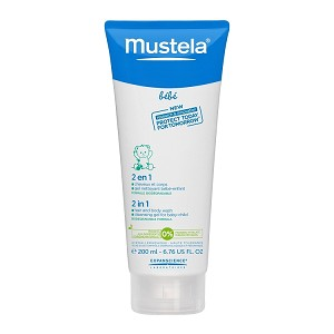 Mustela 2 in 1 Hair & Body Wash 6.7 fl oz