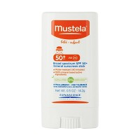 Mustela Broad Spectrum SPF 50 Mineral Sunscreen Stick 0.5oz