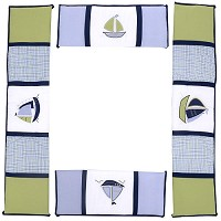 Nautica Zachary Crib Bumper Set