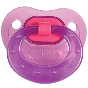 Nuk Lollipop Orthodontic Pacifer Silicone 2pk 6-18m