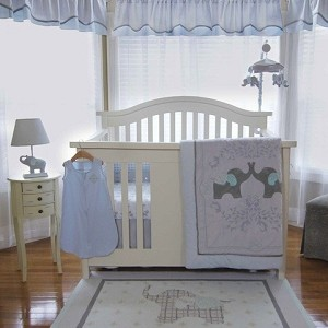 Nurture Imagination Elephant Jubilee 5 Piece Crib Bedding Set