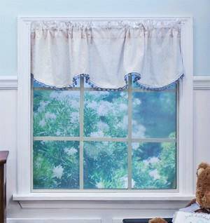 Nurture Imagination Window Valance Nest