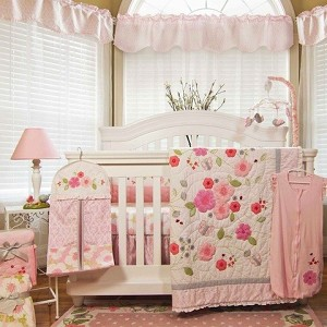 Nurture Imagination Garden District 4-Piece Crib Set