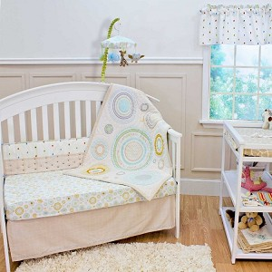 Nurture Imagination Cosmo Dot 3-Piece Crib Set