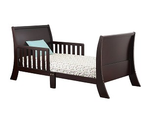 Orbelle Louise Phillipe Toddler Bed Espresso