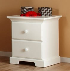 Pali Design Volterra Nightstand in White
