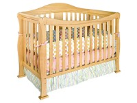 Million Dollar Baby Parker 4-in-1 Convertible Crib in Natural