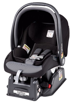 Peg Perego Primo Viaggio Infant Car Seat in Stone Black