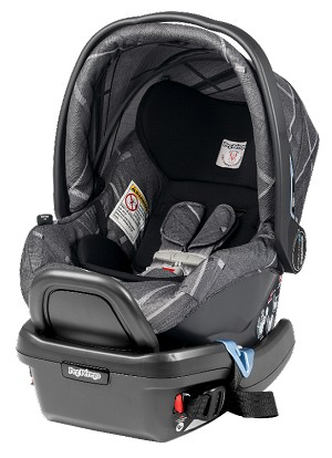 Peg Perego 2014 Primo Viaggio Infant Car Seat 4/35 in Portraits Grey Special Edition