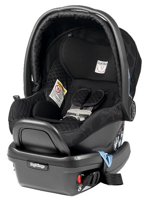 Peg Perego 2014 Primo Viaggio Infant Car Seat 4/35 in Pois Black