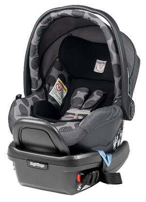 Peg Perego 2014 Primo Viaggio Infant Car Seat 4/35 in Pois Grey