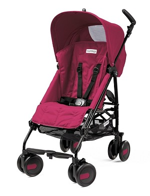 Peg Perego Pliko Mini in Fleur - Raspberry Pink