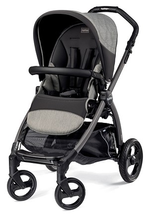 Peg Perego Book Pop Up Atmosphere Light & Dark Grey