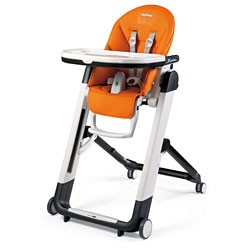 Peg Perego Siesta High Chair in Orange