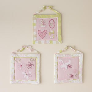 Pem America Laura Ashley Love Wall Hanging