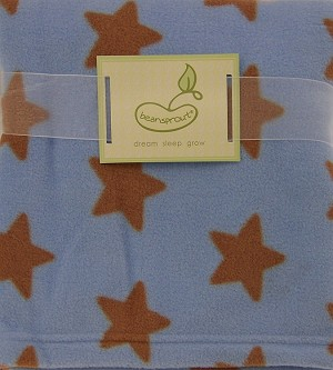 Pem America Micro Polar Fleece Blanket Blue Star