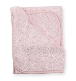 American Baby Organic Hooded Towel Set Pink