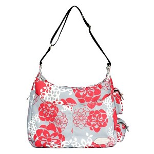 JJ Cole Zoey Diaper Bag, Cherry Lotus