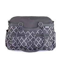 JJ Cole Diaper Bag Stone Arbor