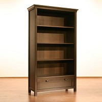 Romina Kids Furniture Karisma 1 Drawer Bookcase Espresso