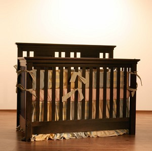 Romina Kids Furniture Karisma Convertible Crib in Espresso