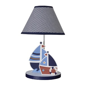 Sail Away Lamp & Shade