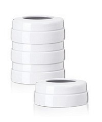 AVENT White Screw Rings