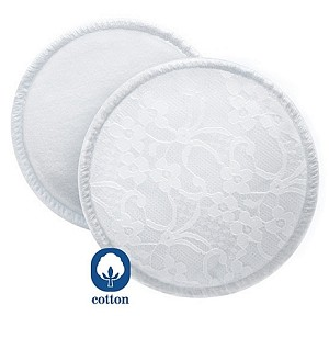 6 Breast Pads with Laundry Bag