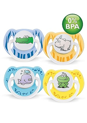 Fashion Pacifier 6-18 Mos
