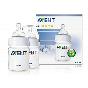 2 Pack 4oz Feeding Bottle