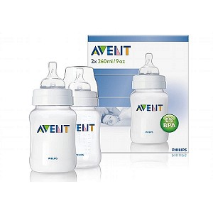2 Pack 9oz Feeding Bottle