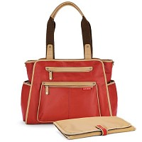 Skip Hop Grand Central Diaper Bag-Cinnamon