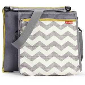 Skip Hop Central Park Outdoor Blanket & Cooler Bag-Chevron