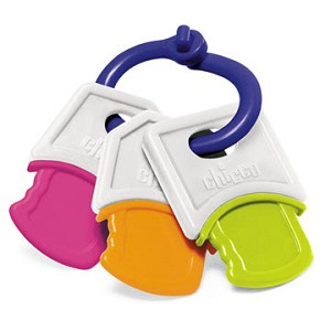 Chicco Soft Keys Teething Ring