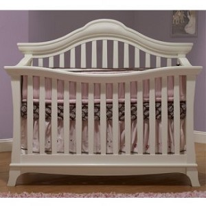 Sorelle Napa Convertible Crib in French White