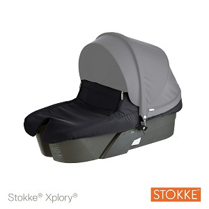 Stokke� Xplory� Carry Cot Complete Dark Navy