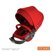 Stokke® Xplory® and Crusi Seat Complete Red