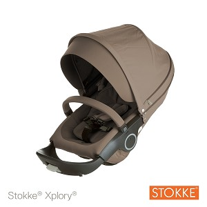 Stokke� Xplory� and Crusi Seat Complete Brown
