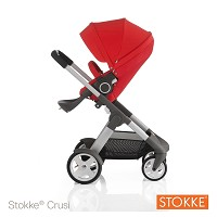Stokke® Crusi Stroller Red