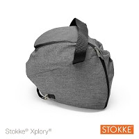 Stokke® Xplory® V4 Shopping Bag, Black Melange