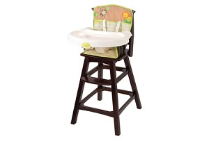 Summer Infant Classic Comfort Wood Highchair � Swingin Safari