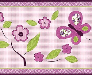 """Sugar Plum"" Wall Border"