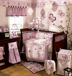 Sugar Plum 8 Piece Crib Set